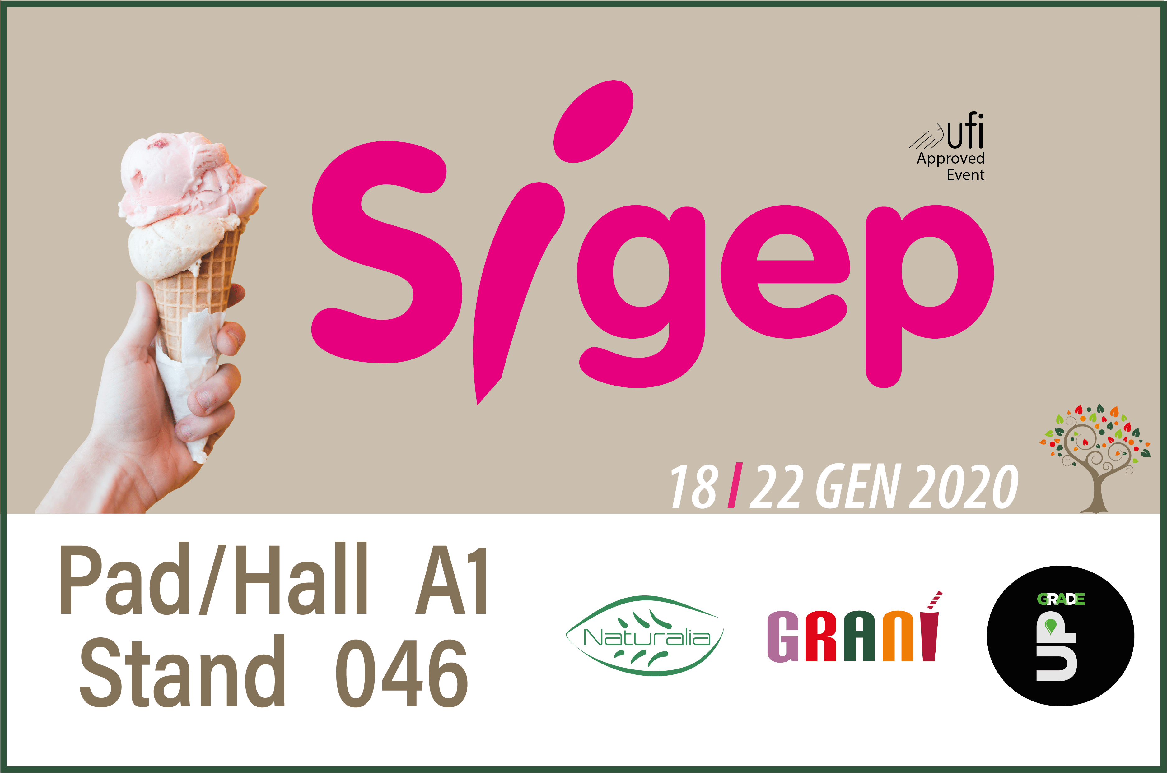 OUR EXHIBITION – SIGEP 2020